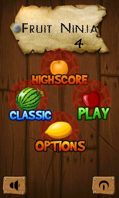 Download free mobile game: Fruit Ninja 4 - download free games for mobile phone.