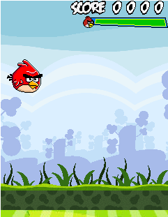 Download free mobile game: Angry Birds: Free Fly - download free games for mobile phone.