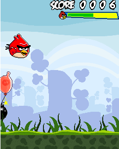 Download free game for mobile phone: Angry Birds: Free Fly - download mobile games for free.