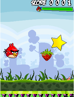 Mobile game Angry Birds: Free Fly - screenshots. Gameplay Angry Birds: Free Fly.