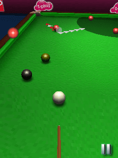 Download free game for mobile phone: World Snooker Championship 09 3D - download mobile games for free.