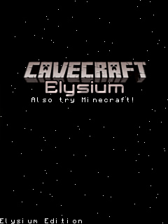 Download free Cavecraft: Elysium edition - java game for mobile phone. Download Cavecraft: Elysium edition