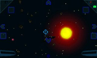 Скриншот java игры Galaxy on Fire 2: Dark space. Игровой процесс.
