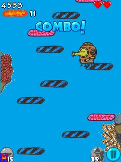 Doodle jump s60v5 edition mobile game free download from ovi.
