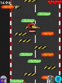 Download free game for mobile phone: Doodle Jump: Racing - download mobile games for free.