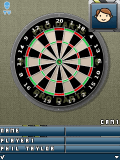 Download free game for mobile phone: Premier League Darts 2009 - download mobile games for free.