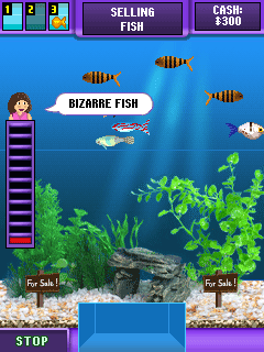 Download free mobile game: Fish Tycoon - download free games for mobile phone.