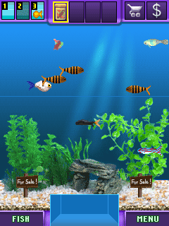 Download free game for mobile phone: Fish Tycoon - download mobile games for free.
