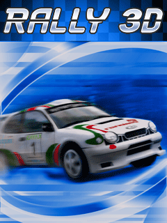 Download free Rally 3D - java game for mobile phone. Download Rally 3D