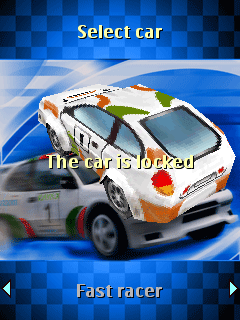 Download free game for mobile phone: Rally 3D - download mobile games for free.