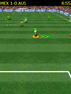 Jeu mobile Football 3D - captures d'écran. Gameplay Soccer 3D.