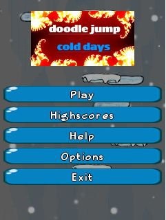 Download free mobile game: Doodle Jump: Cold days - download free games for mobile phone.