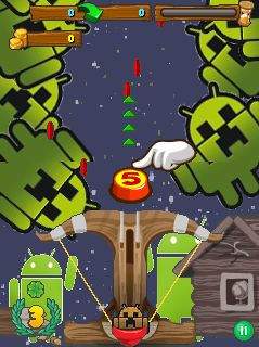 Download free mobile game: MineDroid Jump - download free games for mobile phone.