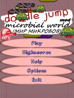 Download free mobile game: Doodle Jump: Microbial world - download free games for mobile phone.