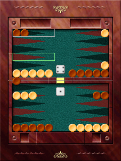 Download free game for mobile phone: Elkware's Backgammon - download mobile games for free.