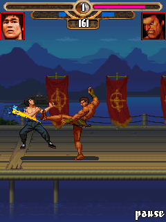 Mobile game Bruce Lee Iron fist - screenshots. Gameplay Bruce Lee Iron fist.