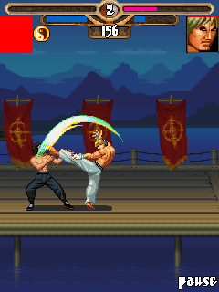 Download free game for mobile phone: Bruce Lee Iron fist - download mobile games for free.