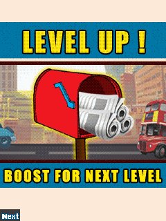 Mobile game Raju paper dash deluxe - screenshots. Gameplay Raju paper dash deluxe.