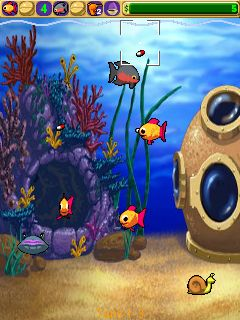 Download free mobile game: Insaniquarium! Deluxe - download free games for mobile phone.