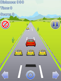 Download free mobile game: Stunt Racing car - download free games for mobile phone.
