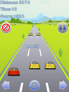 Mobile game Stunt Racing car - screenshots. Gameplay Stunt Racing car.