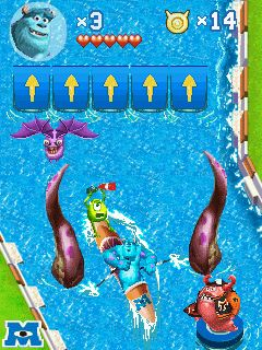 Download free game for mobile phone: Monsters university - download mobile games for free.