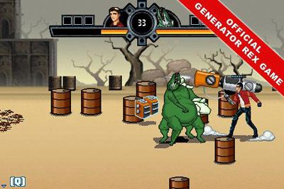 Download free game for mobile phone: Generator Rex: Pack fighter - download mobile games for free.