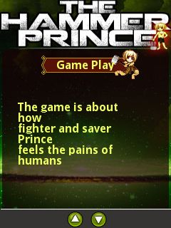 Download free mobile game: The hammer prince - download free games for mobile phone.