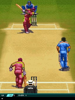 Download free game for mobile phone: Cricket: Ind vs Wi - download mobile games for free.