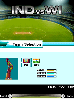 Download free mobile game: Cricket: Ind vs Wi - download free games for mobile phone.
