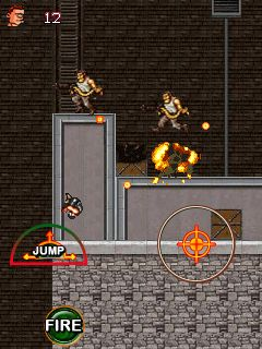 Download free mobile game: Super commando 2 - download free games for mobile phone.