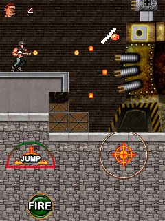 Mobile game Super commando 2 - screenshots. Gameplay Super commando 2.