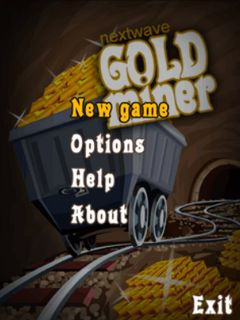 Download free mobile game: Gold miner - download free games for mobile phone.