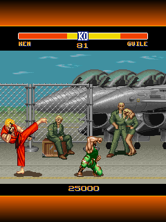 Download free game for mobile phone: Street Fighter 2: The world warrior - download mobile games for free.