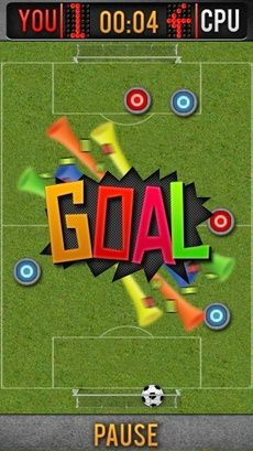 Download free game for mobile phone: Genius button football - download mobile games for free.
