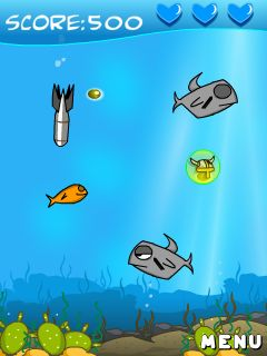 Download free mobile game: Homing fish - download free games for mobile phone.