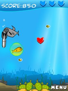 Download free game for mobile phone: Homing fish - download mobile games for free.