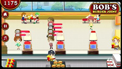 Download free game for mobile phone: Bob's burger joint - download mobile games for free.