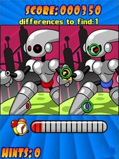 Скриншот java игры Spot the difference: Phone edition. Игровой процесс.