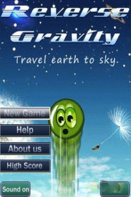 Download free mobile game: Reverse gravity - download free games for mobile phone.