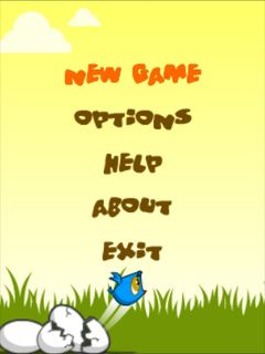 Download free mobile game: Fledgling flight - download free games for mobile phone.