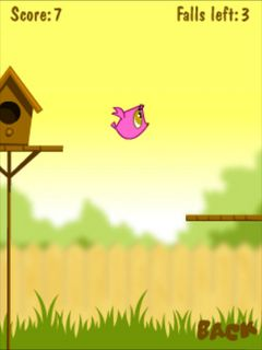 Download free game for mobile phone: Fledgling flight - download mobile games for free.
