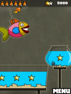 Mobile game Goldfish escape - screenshots. Gameplay Goldfish escape.