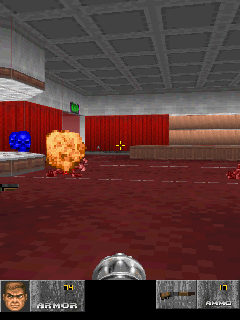 Mobile game DOOM 2: Hell on Earth - screenshots. Gameplay DOOM 2: Hell on Earth.