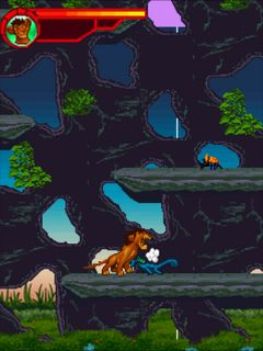 Download free game for mobile phone: Adventures of Simba - download mobile games for free.
