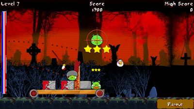 Jeu mobile Oiseaux méchants: Bouillie sanglante MOD - captures d'écran. Gameplay Angry Birds: Blood MOD.