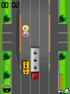 Download free game for mobile phone: Speed racer - download mobile games for free.