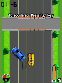 Mobile game Speed racer - screenshots. Gameplay Speed racer.