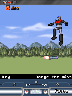 Download free game for mobile phone: Mazinger: The battle of the superobot - download mobile games for free.