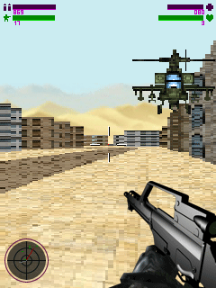 Mobile game Assault group 3D - screenshots. Gameplay Assault group 3D.